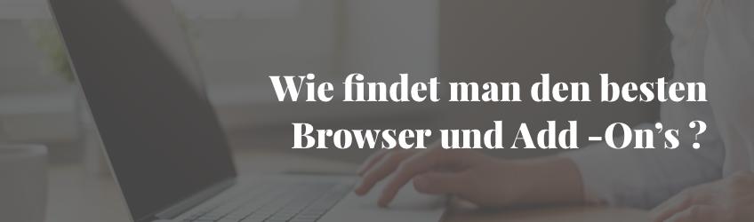 Was Ist Der Beste Browser
