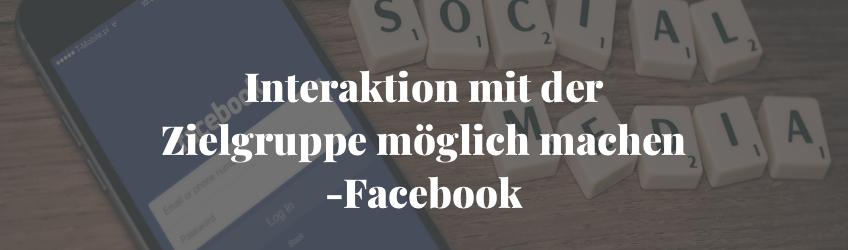 Facebookseite für Unternehmen