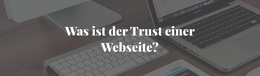 Der Trust einer Webseite