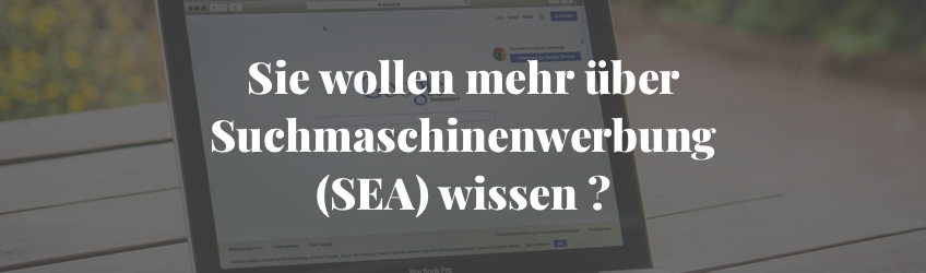 Suchmaschinenwerbung SEA
